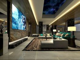 Impressive chinese living room decor ideas 04