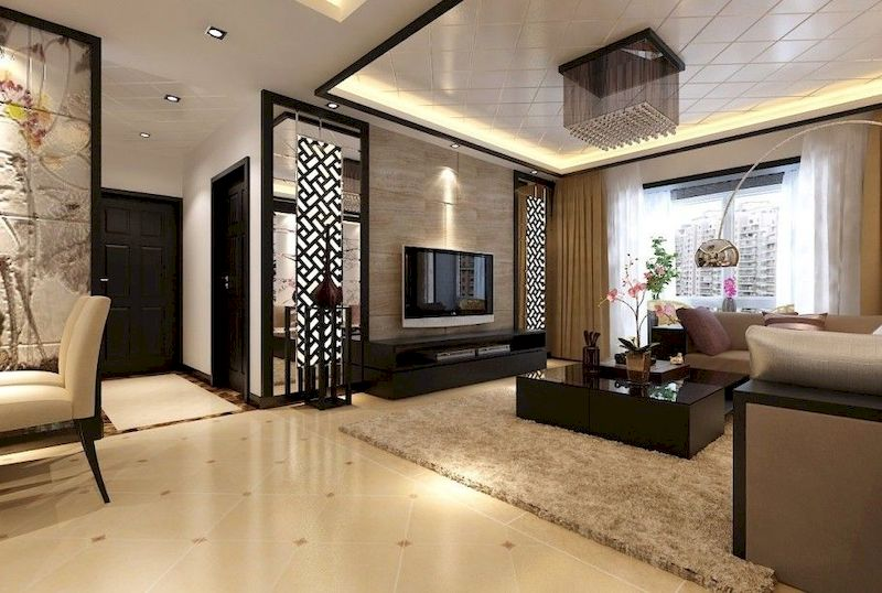 Impressive chinese living room decor ideas 09
