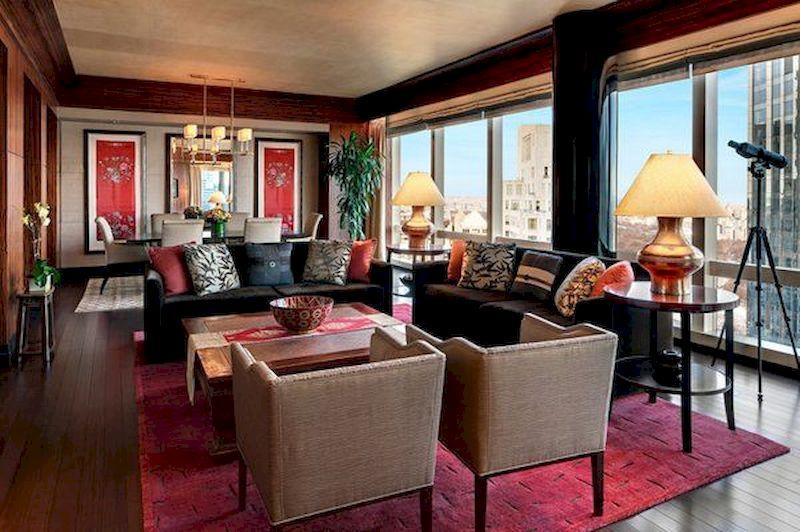 Impressive chinese living room decor ideas 22