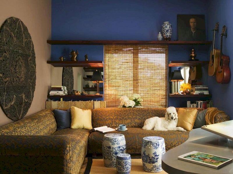 Impressive chinese living room decor ideas 33