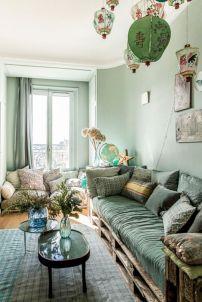 Impressive chinese living room decor ideas 46