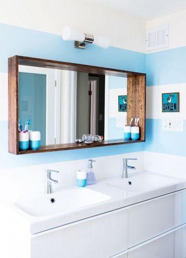 Inspiring bathroom mirror design ideas 48