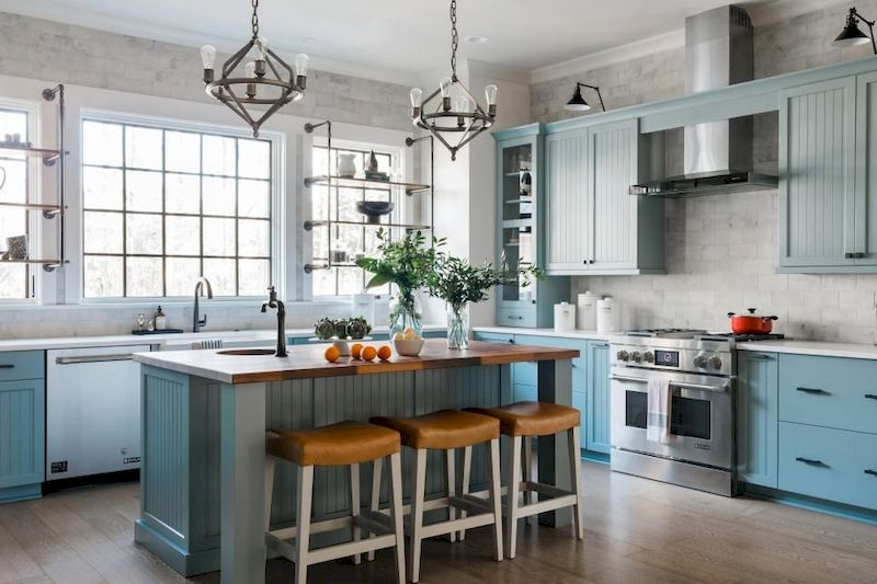Latest coastal kitchen design ideas 13