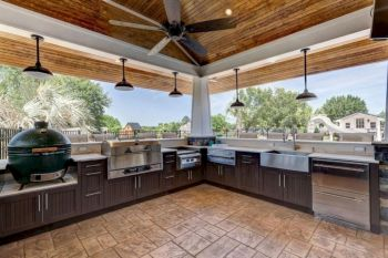 Modern outdoor kitchen designs ideas 01