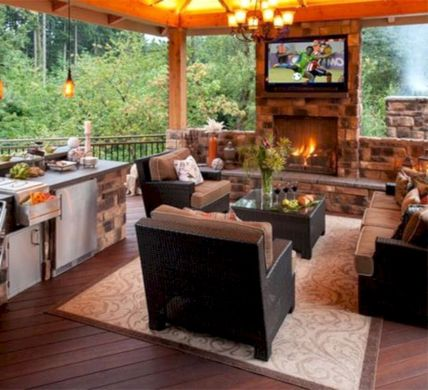 Modern outdoor kitchen designs ideas 18