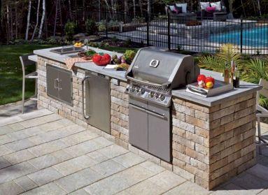 Modern outdoor kitchen designs ideas 28