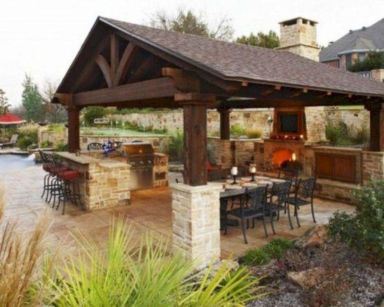 Modern outdoor kitchen designs ideas 32