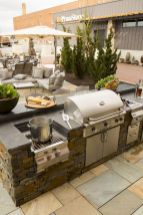 Modern outdoor kitchen designs ideas 37