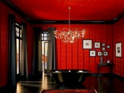 Newest gothic bathroom design ideas 08
