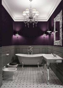 Newest gothic bathroom design ideas 10