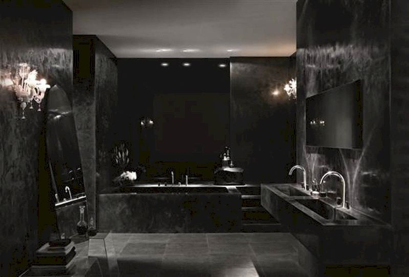 Newest gothic bathroom design ideas 21