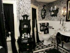 Newest gothic bathroom design ideas 26