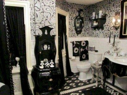 Newest gothic bathroom design ideas 26