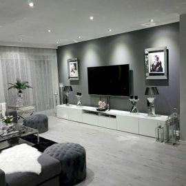 Stunning scandinavian living room design ideas 06