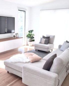 Stunning scandinavian living room design ideas 17