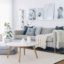 Stunning scandinavian living room design ideas 35
