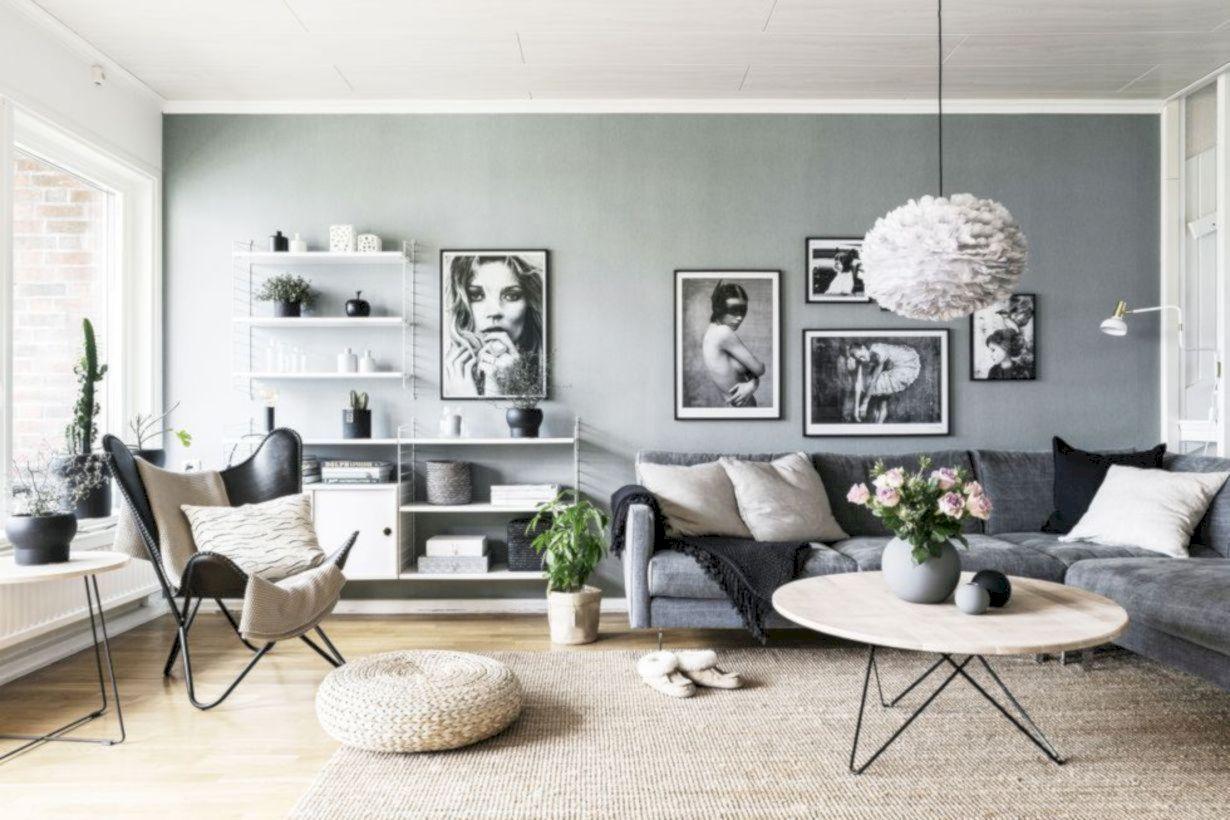 49 Stunning Scandinavian Living Room Design Ideas