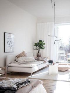 Stunning scandinavian living room design ideas 46