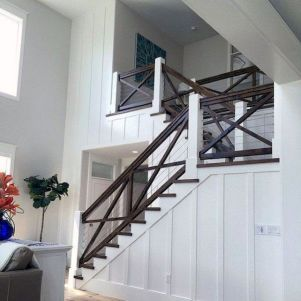 Unique coastal stairs design ideas for home this summer 04