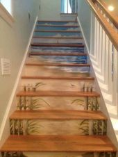 Unique coastal stairs design ideas for home this summer 10