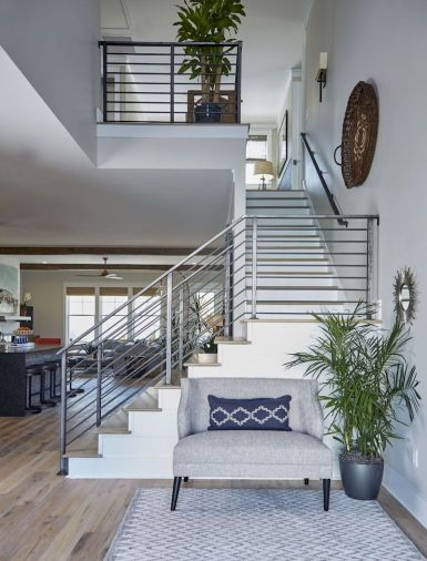 Unique coastal stairs design ideas for home this summer 12