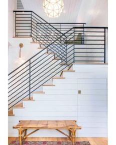 Unique coastal stairs design ideas for home this summer 21