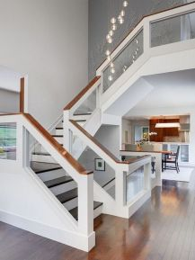 Unique coastal stairs design ideas for home this summer 23