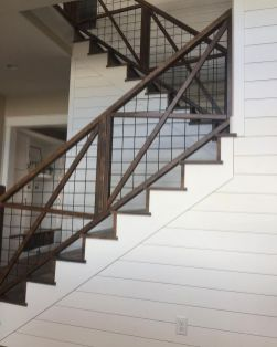Unique coastal stairs design ideas for home this summer 30