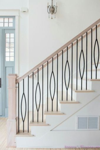 Unique coastal stairs design ideas for home this summer 39