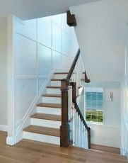 Unique coastal stairs design ideas for home this summer 41
