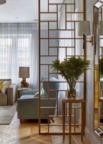 Unique mid century living room décor ideas 05