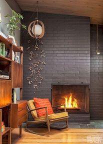 Unique mid century living room décor ideas 07