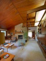Unique mid century living room décor ideas 22