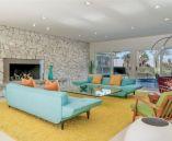 Unique mid century living room décor ideas 25