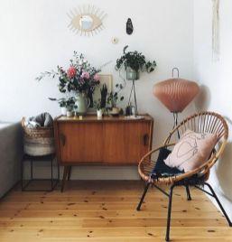Unique mid century living room décor ideas 27