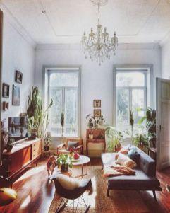Unique mid century living room décor ideas 29
