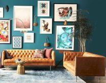 Unique mid century living room décor ideas 30