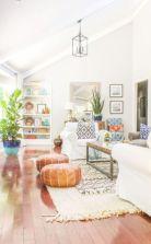 Unique mid century living room décor ideas 38