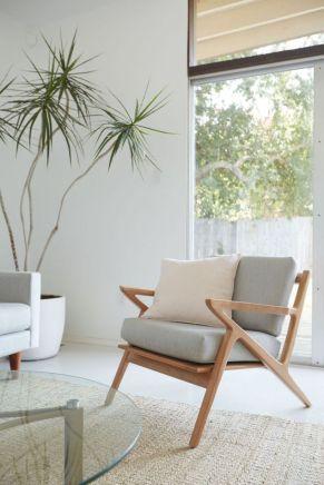 Unique mid century living room décor ideas 47
