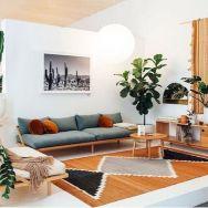 Unique mid century living room décor ideas 51