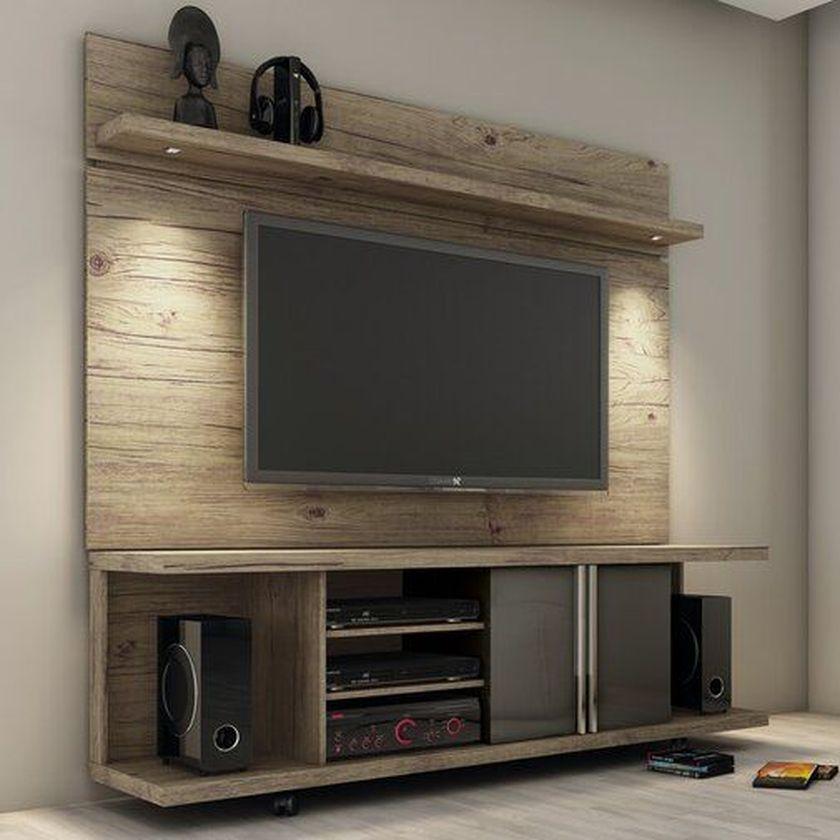 Adorable tv wall decor ideas 10