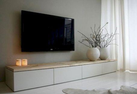 Adorable tv wall decor ideas 15