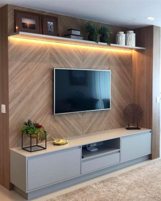 Adorable tv wall decor ideas 24