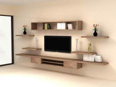 Adorable tv wall decor ideas 30