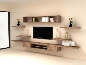 Adorable tv wall decor ideas 30