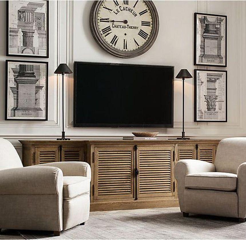 Adorable tv wall decor ideas 39