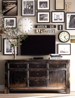 Adorable tv wall decor ideas 41