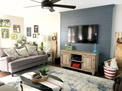 Adorable tv wall decor ideas 53