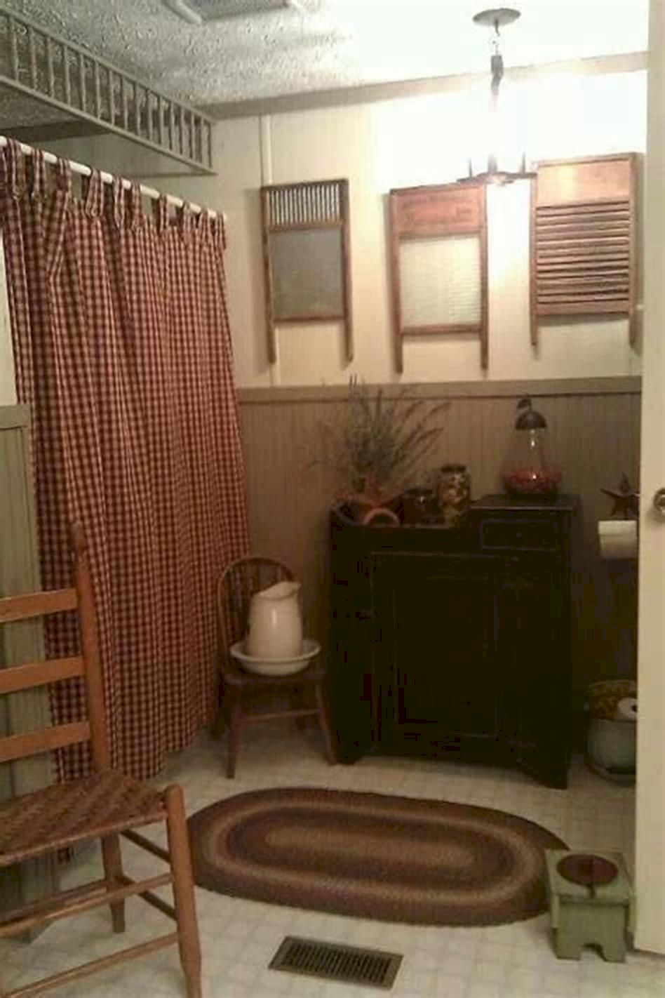 Amazing country bathrooms ideas you can imitate 25