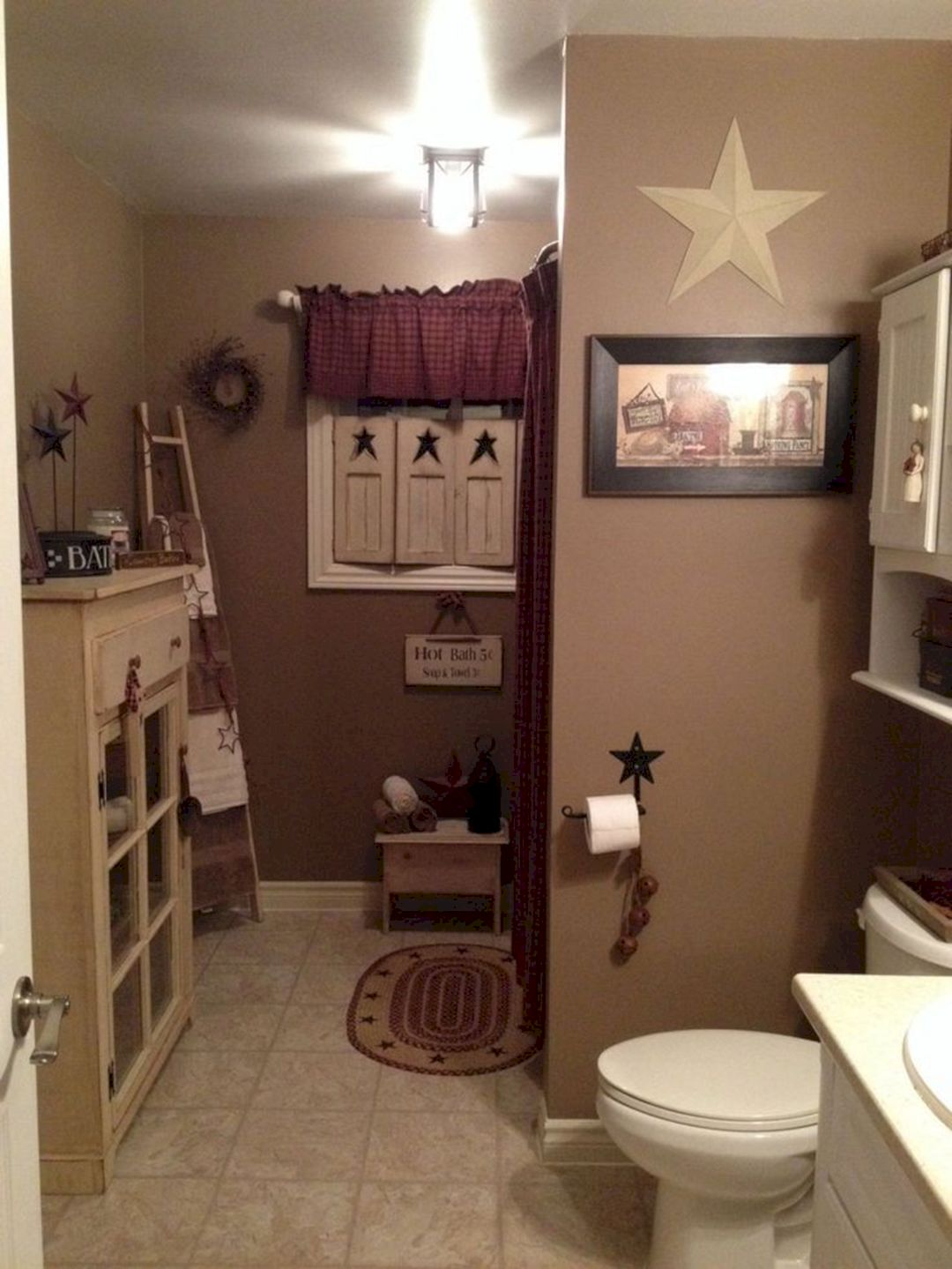 Amazing country bathrooms ideas you can imitate 33